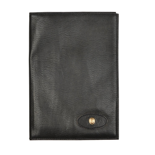 Goldpfeil Caracciola Travel Wallet - Black