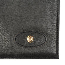 Load image into Gallery viewer, Goldpfeil Caracciola Travel Wallet - Black