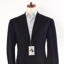 Load image into Gallery viewer, Canali Kei Unstructured Jacket Size 52 - Navy Blue