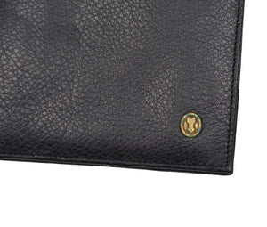 Goldpfeil Leather Wallet/Billfold - Black