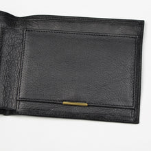 Load image into Gallery viewer, Goldpfeil Leather Wallet/Billfold - Black