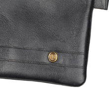Load image into Gallery viewer, Goldpfeil Leather Pouch - Black