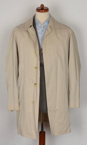 Vintage Burberry Mac/Car Coat Size 50 - Beige