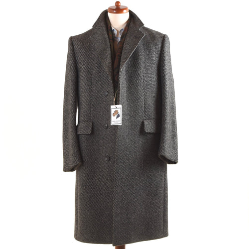 Kynoch Scotland for Bierkopf Tweed Overcoat Size 48