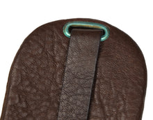 Load image into Gallery viewer, Goldpfeil Leather Keychain/Case - Dark Brown
