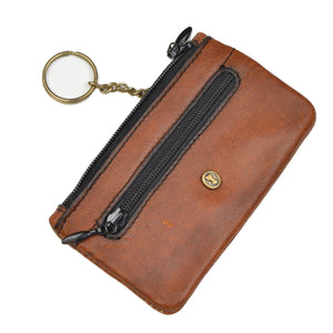 Goldpfeil Leather Keychain/Case - Tan