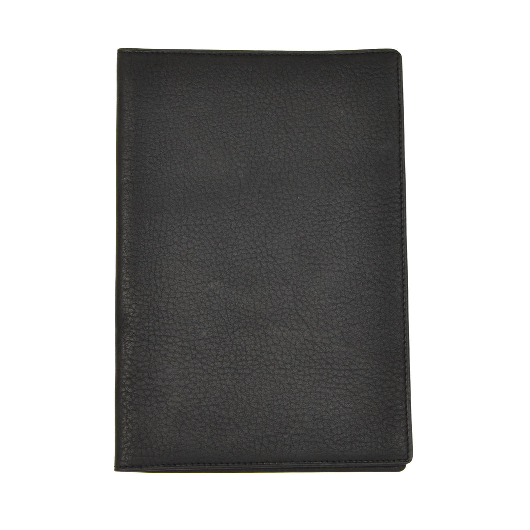 Goldpfeil Travel Wallet/Passport Case - Black