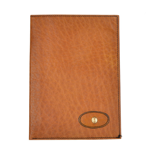 Goldpfeil Caraciolla Travel Wallet/Passport Case - Tan