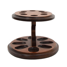 Load image into Gallery viewer, Savinelli Milano Burlwood Pipe Stand