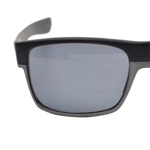 Oakley Twoface 9256-12 Polarized Sunglasses - Machinist Matte Black Chrome Iridium