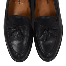 Load image into Gallery viewer, Ermenegildo Zegna Tassle Loafers Size 9 3/4 - Black