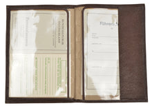 Load image into Gallery viewer, Goldpfeil Travel Wallet - Brown