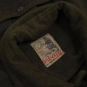 Vintage Loden Cape - Green