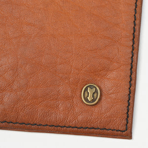 Goldpfeil Caraciolla Leather Money Clip - Tan
