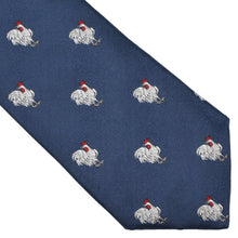 Load image into Gallery viewer, Hermès Paris Embroidered Silk Tie - Rooster
