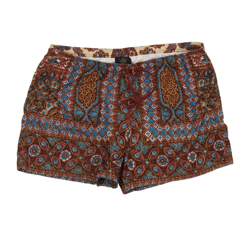 Vintage Brooksfield Batik Swim Trunks Size 52