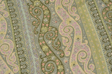 Load image into Gallery viewer, Etro Milano Paisley Scarf - Pastel Greens & Pinks