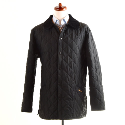 Barbour Quilted Jacket - Black