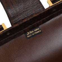 Load image into Gallery viewer, Jelen Paris Buffalo Leather Briefcase - Brown