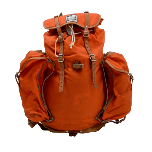 Vintage Kamarg Nylon Rucksack - Orange