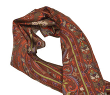 Load image into Gallery viewer, Etro Milano Flower Scarf - Oranges & Browns