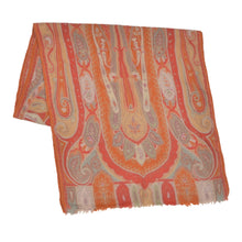 Load image into Gallery viewer, Etro Milano Paisley Scarf - Oranges & Reds