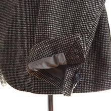 Load image into Gallery viewer, Tagliatore Unstructured Wool/Cotton Jacket Size 48 - Houndstooth