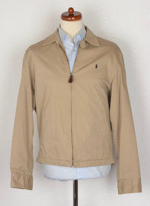 Polo Ralph Lauren Harrington Jacket Size M - Tan