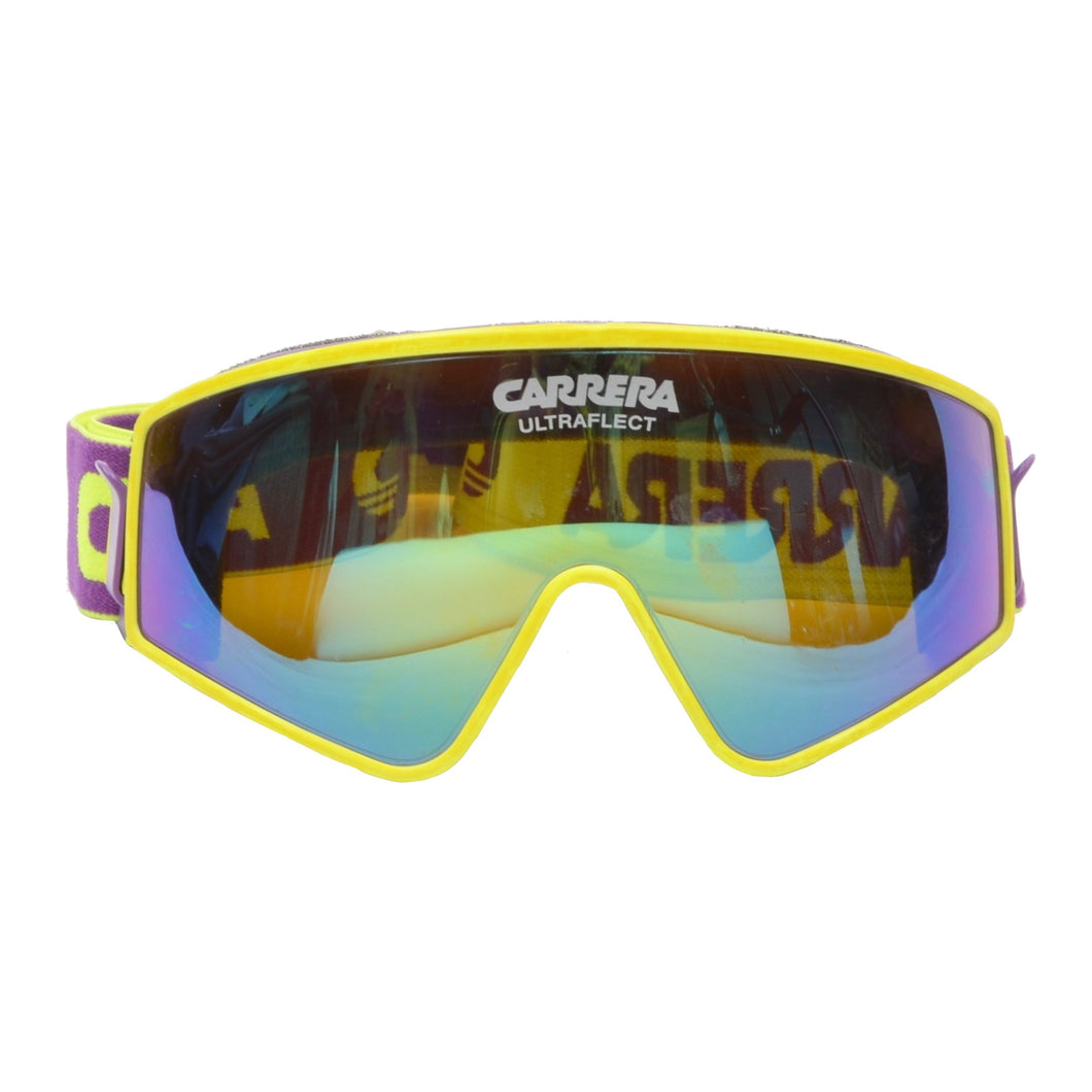 Vintage Carrera Multi-Sport Goggles Sunglasses - Purple & Yellow