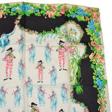 Load image into Gallery viewer, Vintage Atelier Versace 1993 Silk Scarf - Carnivale