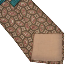 Load image into Gallery viewer, Prochownick Ancient Madder Silk Tie - Brown & Tan