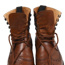 Load image into Gallery viewer, Ludwig Reiter Budapester Boots Size 9 - Cognac Brown