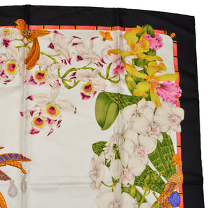 Must de Cartier Silk Scarf - Jungle Wildlife