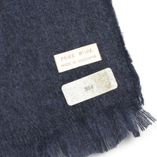 Load image into Gallery viewer, Classic Wool Scarf - Steel Blue