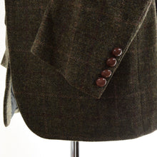 Load image into Gallery viewer, Francesco Smalto Paris Tweed Jacket Size 50 - Green