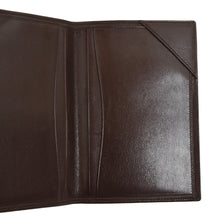 Load image into Gallery viewer, Classic Leather Travel Wallet - Brown