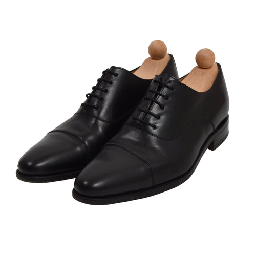 Berwick 1707 Balmoral Shoes Size 42.5 - Black