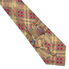 Load image into Gallery viewer, Kirchbaumer Golf Themed Silk Tie - Plaid