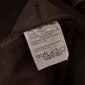 Tagliatore Cotton Jacket Size 46 - Brown