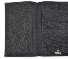Load image into Gallery viewer, Mädler Leather Travel/Breast Wallet - Black