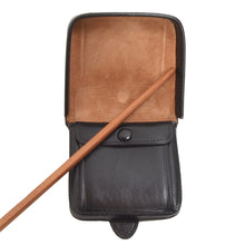 Load image into Gallery viewer, Classic Elegant Leather Change Purse - Black
