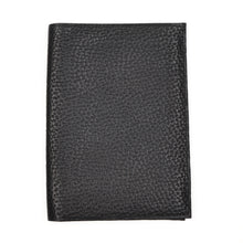 Load image into Gallery viewer, Becker Handmade Leather Travel/Breast Wallet - Black