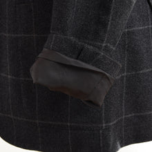 Load image into Gallery viewer, Corneliani Wool/Cotton Jacket Size 46 - Grey Windowpane