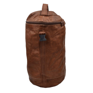 Jean Weipert Traveller Leather 40L Gym/Duffle Bag - Brown