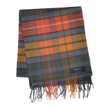 Load image into Gallery viewer, Cashmere & Wool Scarf by Johnstons of Elgin - Plaid