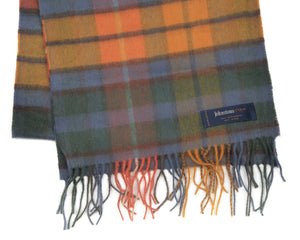 Cashmere & Wool Scarf by Johnstons of Elgin - Plaid