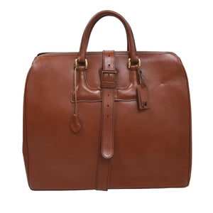 F. Schulz Wien Leather Weekender Bag - Tan