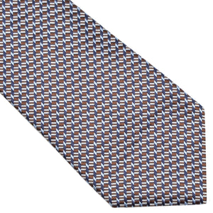 Ermenegildo Zegna Silk Tie - Brown & Blue