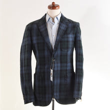Load image into Gallery viewer, NEW LBM 1911 Cotton Jacket Size 50 - Blue & Green Plaid