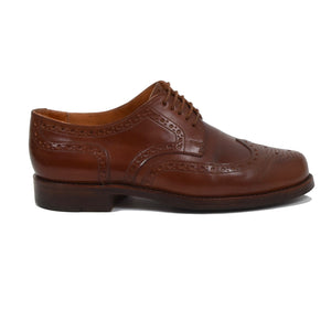 Ludwig Reiter Shell Cordovan Budapester Shoes Size 9 - Brown